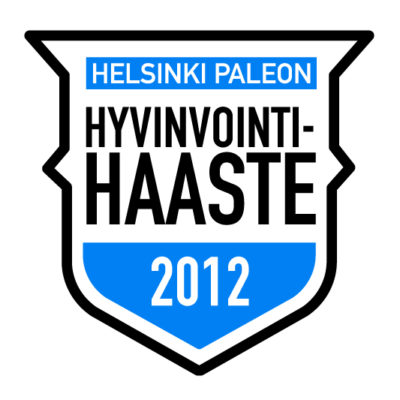 Helsinki Paleon Hyvinvointihaaste 2012 alkaa tänään