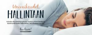Paremmat unet tuova Nuku koko yö -verkkovalmennus alkaa 19.10.2017