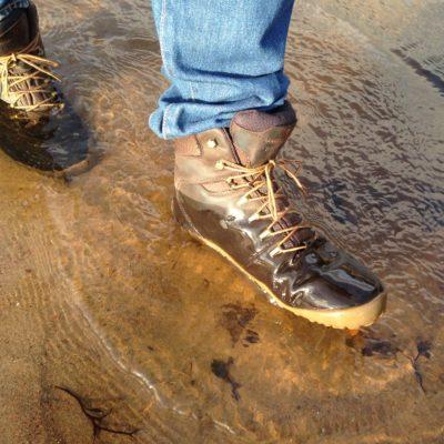 Testissä Vivobarefoot Tracker -vaelluskenkä